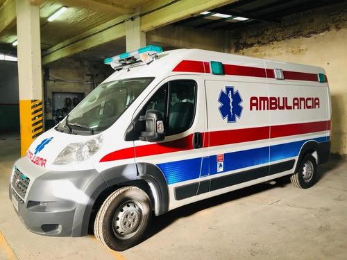 fiat ducato 0km furgon maxicargo / ambulancia / minibus a-