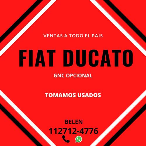 fiat ducato 2020 0km - retirala con $270.000 o tu usado b