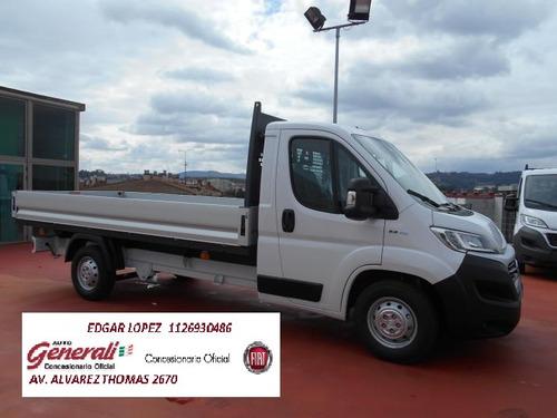 fiat ducato 2.3 diesel chasis largo 2020 0km (el)