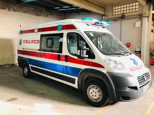 fiat ducato 2.3 furgon maxicargo equipada ambulancia 0km z-