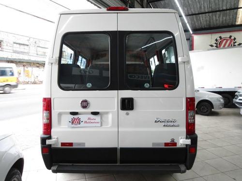 fiat ducato 2.3 minibus teto alto 16v turbo