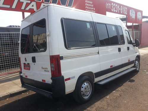 fiat ducato 2.3 minibus teto alto 16v turbo diesel 3p