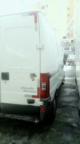 fiat ducato 2.3 multijet longo teto alto economy 5p 2014