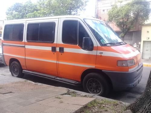 fiat ducato 2.8 larga combi minibus aspirado