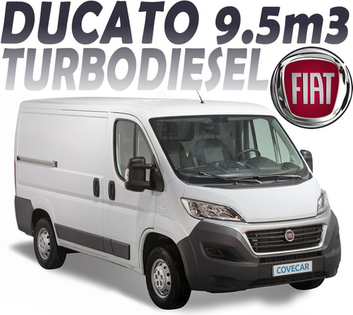 fiat ducato 9.5m3 diesel 2.3 cargo mt 280hp abs ebd 3p arh