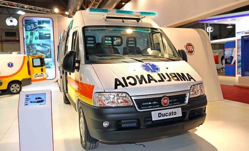 fiat ducato ambulancia $250.000 y cuotas 0% m-
