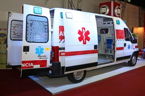 fiat ducato ambulancia $400.000 o usado y cuotas m-