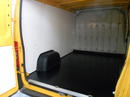 fiat ducato cargo/furgão c/ baú forrado e ar condicionado