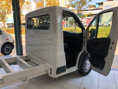 fiat ducato chassi cabine 2020 baú refrigerado
