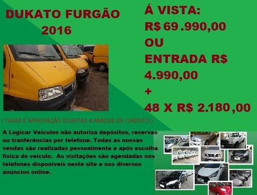 fiat ducato furgão 2.3 2016