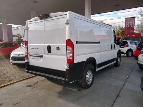 fiat ducato furgon 2019 0k anticipo de$150.000 o tu usado. n