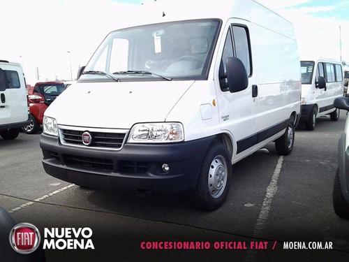 fiat ducato furgón maxicargo 2.3 2017 blanca 5 puertas