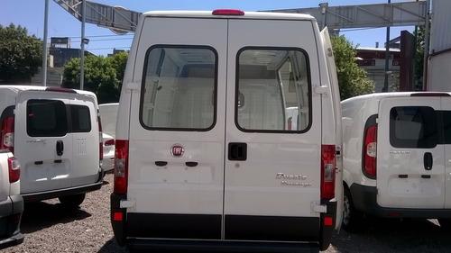 fiat ducato furgón multijet 1,5 tn 2.3 diesel $137.800 shey