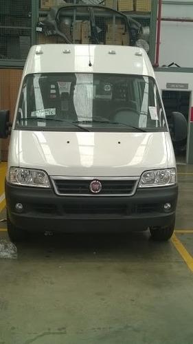 fiat ducato furgón multijet 1,5tn 2.3/ 2017 blanco diesel kp