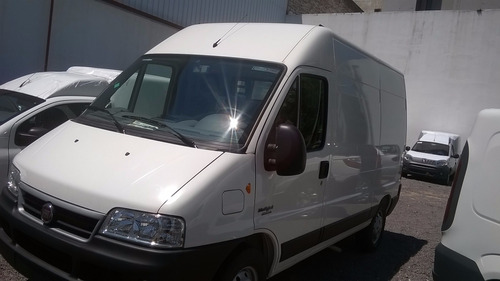 fiat ducato furgón multijet 1,5tn 2.3/ 2018 blanco diesel kp