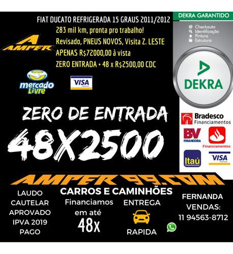 fiat ducato  longo  2.3 multi jet economy  refrigerada 15