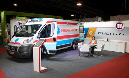 fiat ducato maxicargo ambulancia en stock
