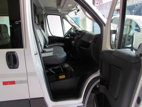 fiat ducato minibus 2018 versão executiva - 0km