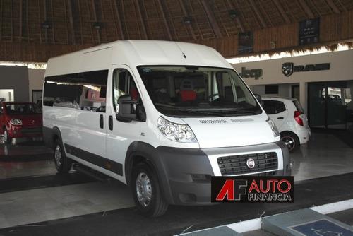 fiat ducato nuevo minibus 19+1 $500.000 y cuotas $8900 f-