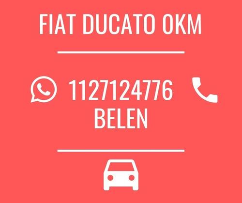 fiat ducato todas sus versiones retira con 160$ 0km 2020  b