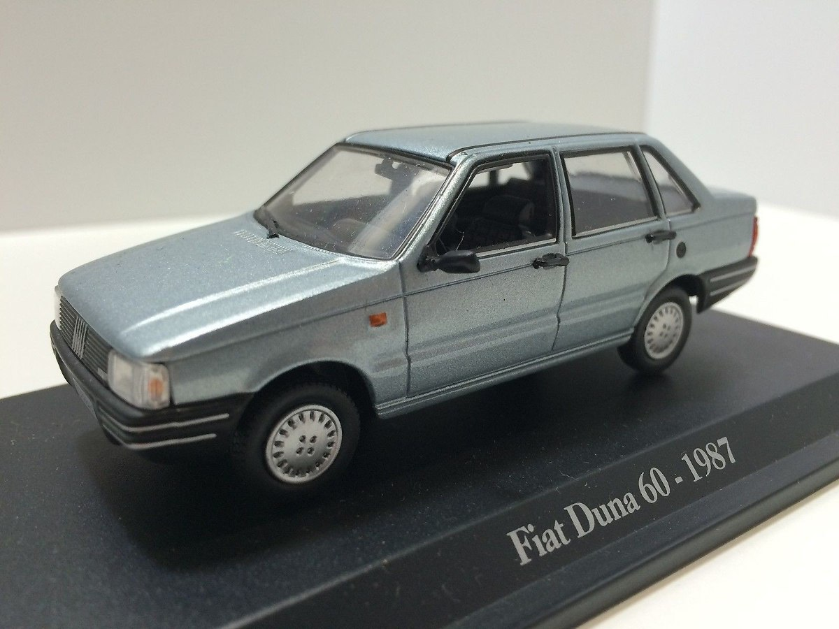 fiat duna 60 1987 4 puertas coleccion fiat story escala 1/43