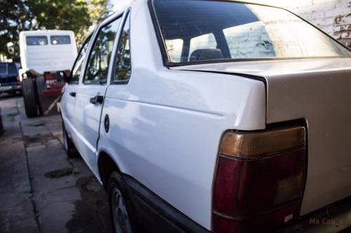 fiat duna diesel 1.7 1998 llantas de aleación blanco
