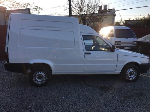 fiat fiorino 1.3 fire furgon año 2009 al dia total divina  2