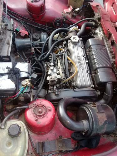 fiat fiorino 1.4 diesel rojo 187000 km $60.000