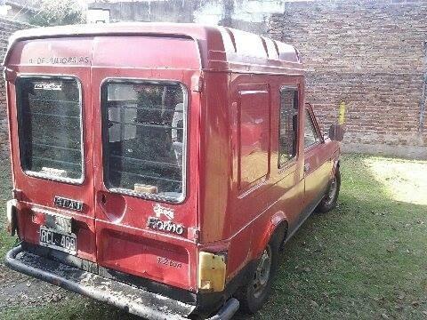 fiat fiorino 1990. motor 1.3 con gnc. titular $40.000