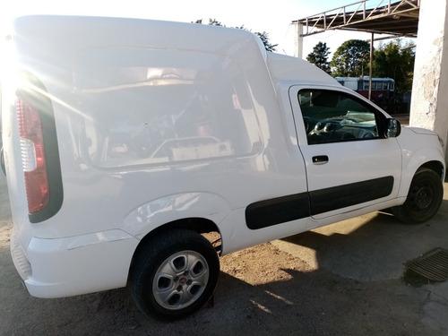 fiat fiorino furgon 1.4  2018 blanca impecable.