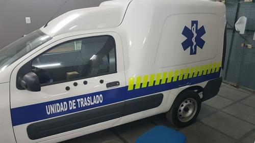 fiat fiorino furgon 1.4 evo top mod 2018 (ambulanc traslado)