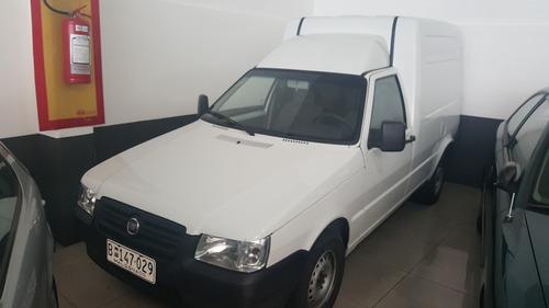 fiat fiorino furgon año 2011 nafta u$s 7300 dta iva permuta