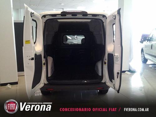 fiat fiorino pack top 1.4 2017 blanca 2 puertas 0km y cuotas