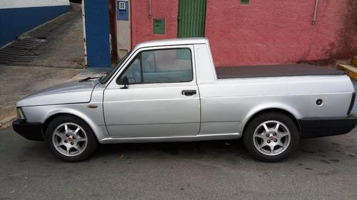 fiat fiorino pick-up 1987 prata