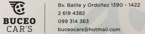 fiat fiorino usd 5.000 + 36 cuotas de $7.600 buceo car's