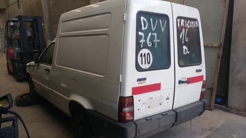 fiat fiorinoi diesel 1,7 dada de baja alta de motor