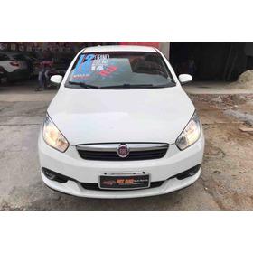 Fiat Grand Siena Attractive 1.4 2013 (branco) (flex)