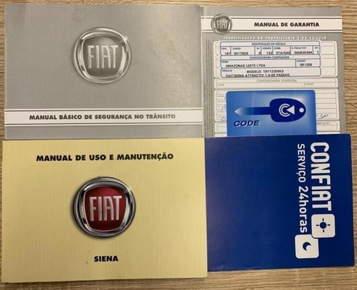fiat grand siena attractive 1.4 8v (flex) manual