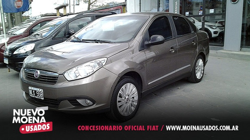 fiat grand siena high tech 1.6 gnc 2013 gris 4 pts anticipo
