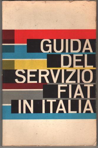 fiat - guia del servicio tecnico en italia