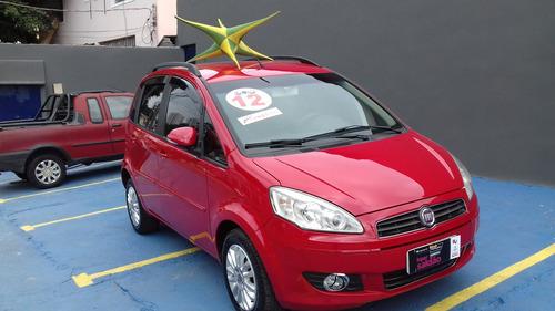 fiat idea 1.4 attractive flex  completa + couro 2012 $ 27900