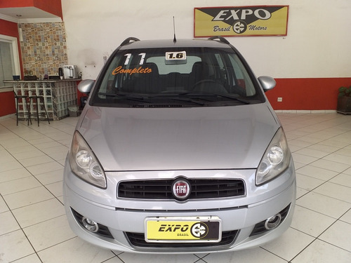 fiat idea 1.6  essence flex 5p 2011 completo