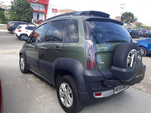 fiat idea adventure 1.8 2013 16v verde-musgo 4 portas flex