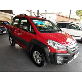 Fiat Idea Adventure 1.8 Vermelha Completa 2014