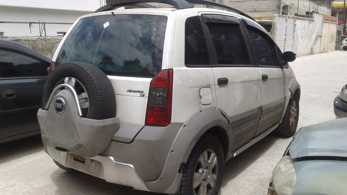 fiat idea adventure flex 1 8 8v 2008 sucata somente pe as