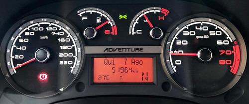 fiat idea adventure locker - 1.8 flex aut. muito novo = 0km