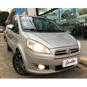 Fiat Idea Attractive 1.4 Manual Prata - 2014