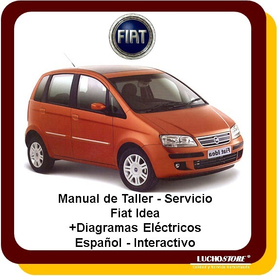 fiat idea manual taller servicio diagramas interactivo 119 00 en rh articulo mercadolibre com ar manual fiat idea adventure manual fiat idea pdf