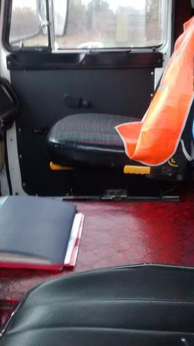 fiat iveco 619 caja de 13 con carrocería     julian