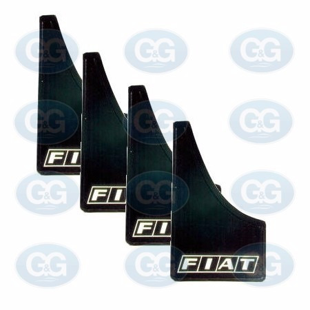 fiat juego / kit barreros 4 unidades 100% flexible